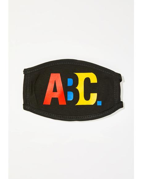 ABC XYZ Face Mask