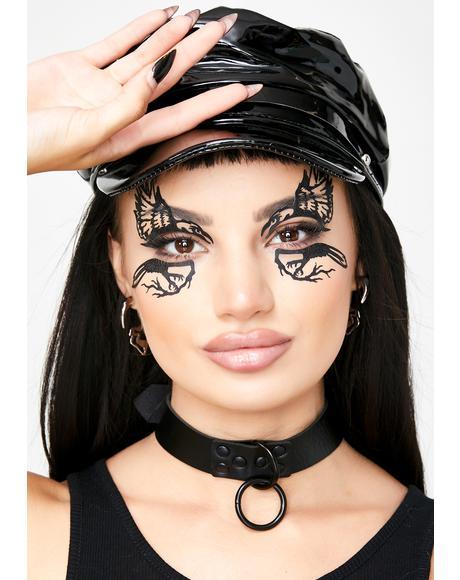 Raven Face Mask