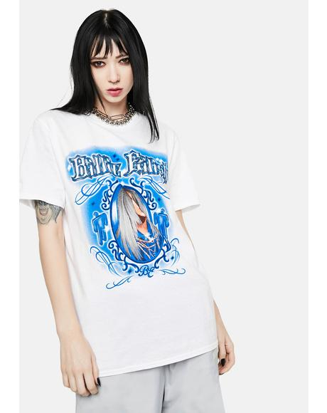 Billie Eilish Airbrush Graphic Tee
