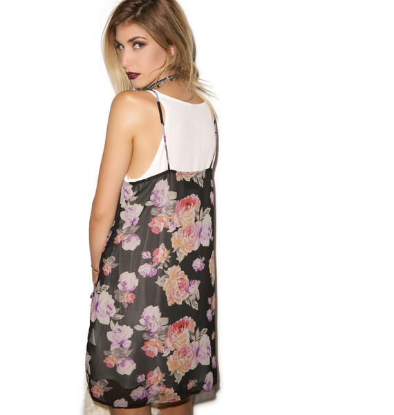 Mink Pink Light Floral Breeze Dress