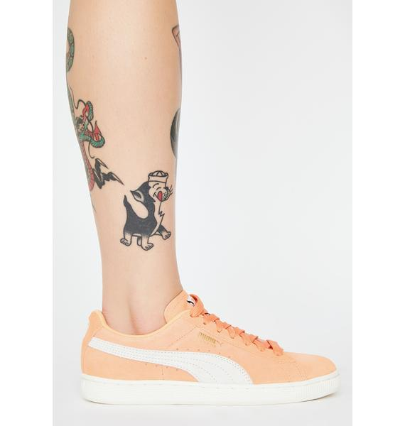 PUMA Coral Suede Classic Sneakers