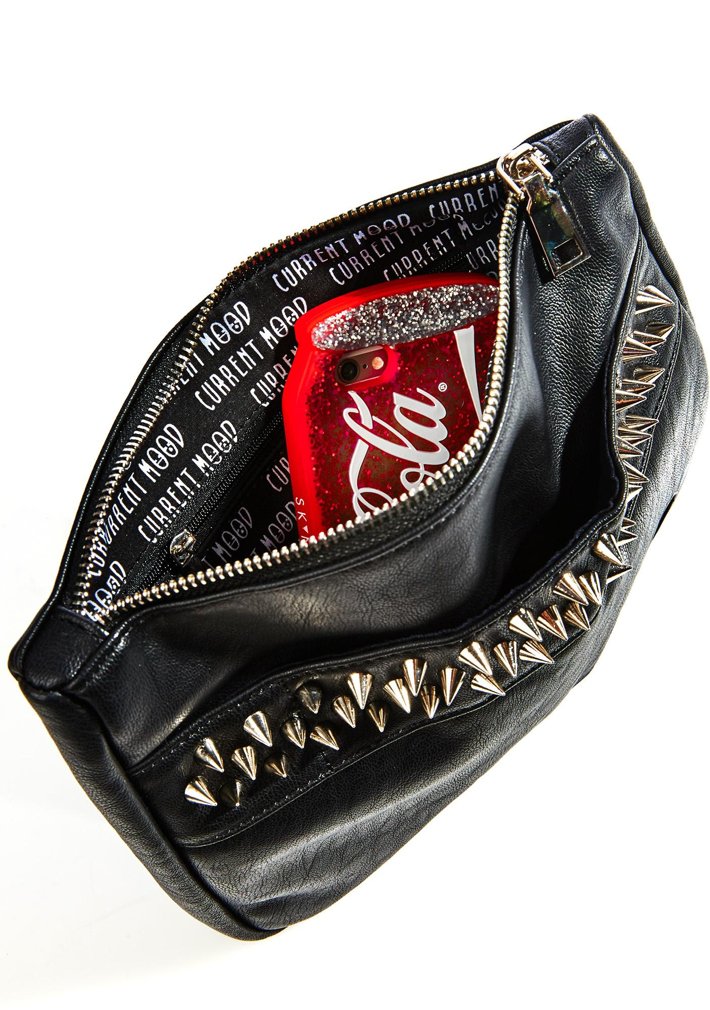Current Mood Spiked Punch Glove Clutch