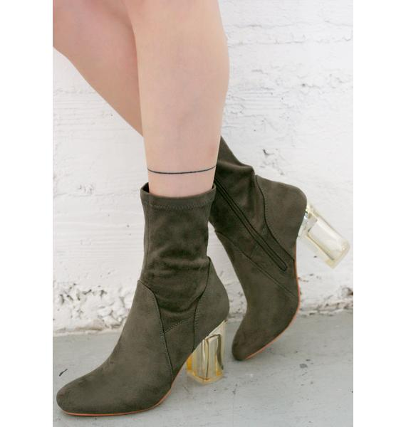 Olive Saturn Boots
