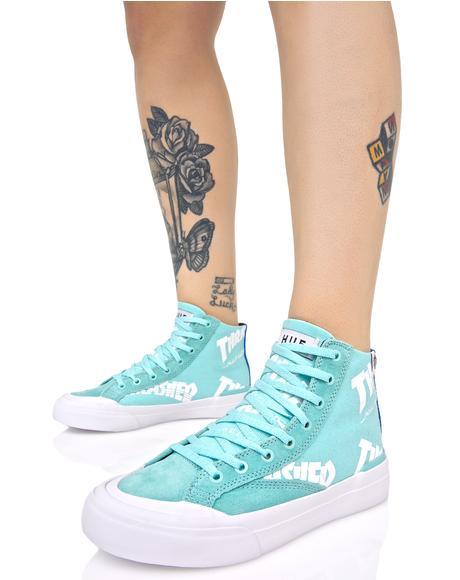 X Thrasher Classic Hi Sneakers