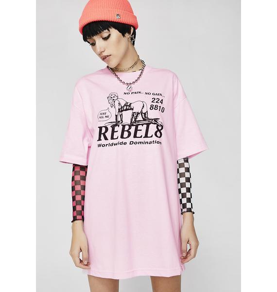 Rebel8 Pleasure Graphic Tee