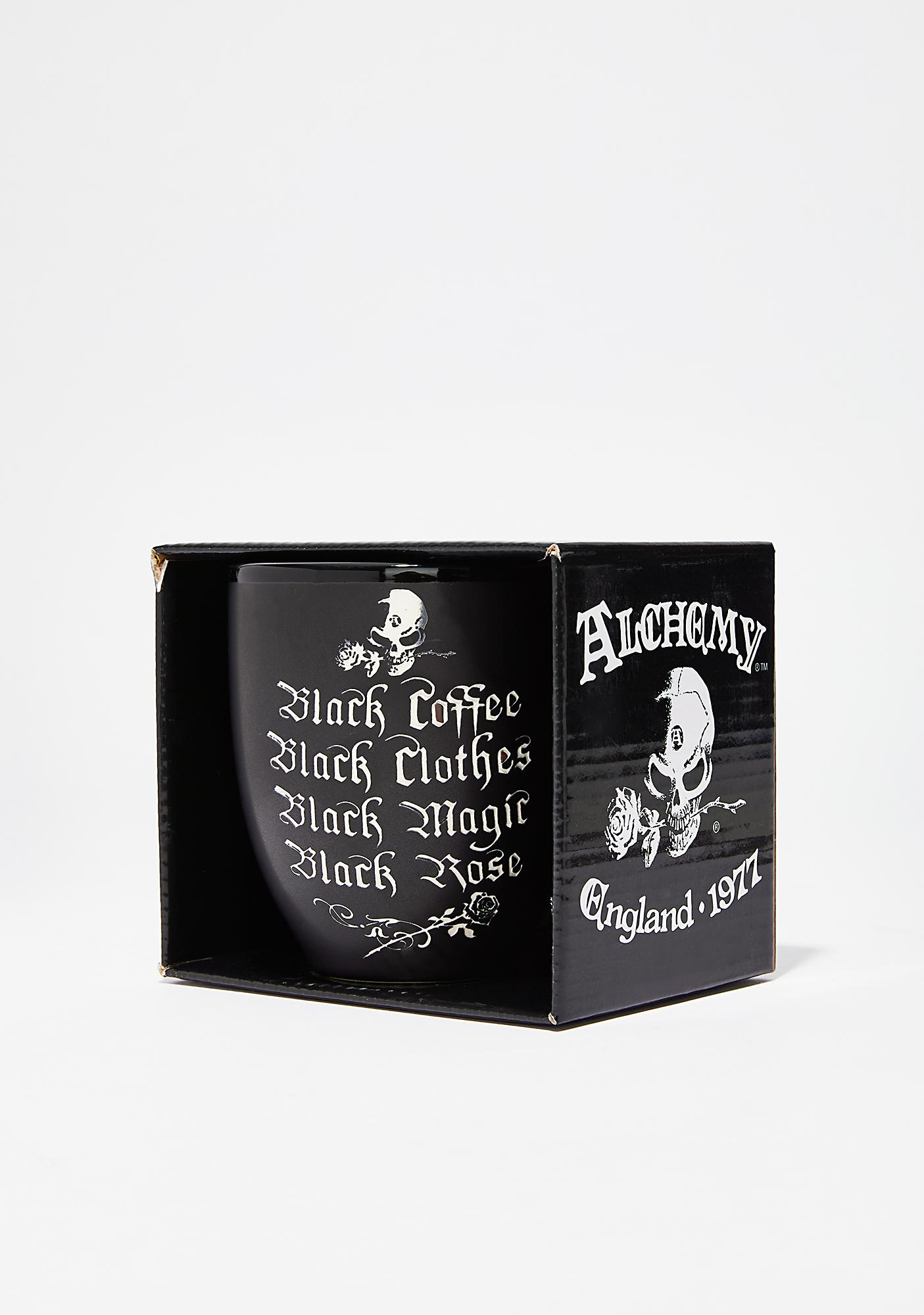 All Black Everything Mug