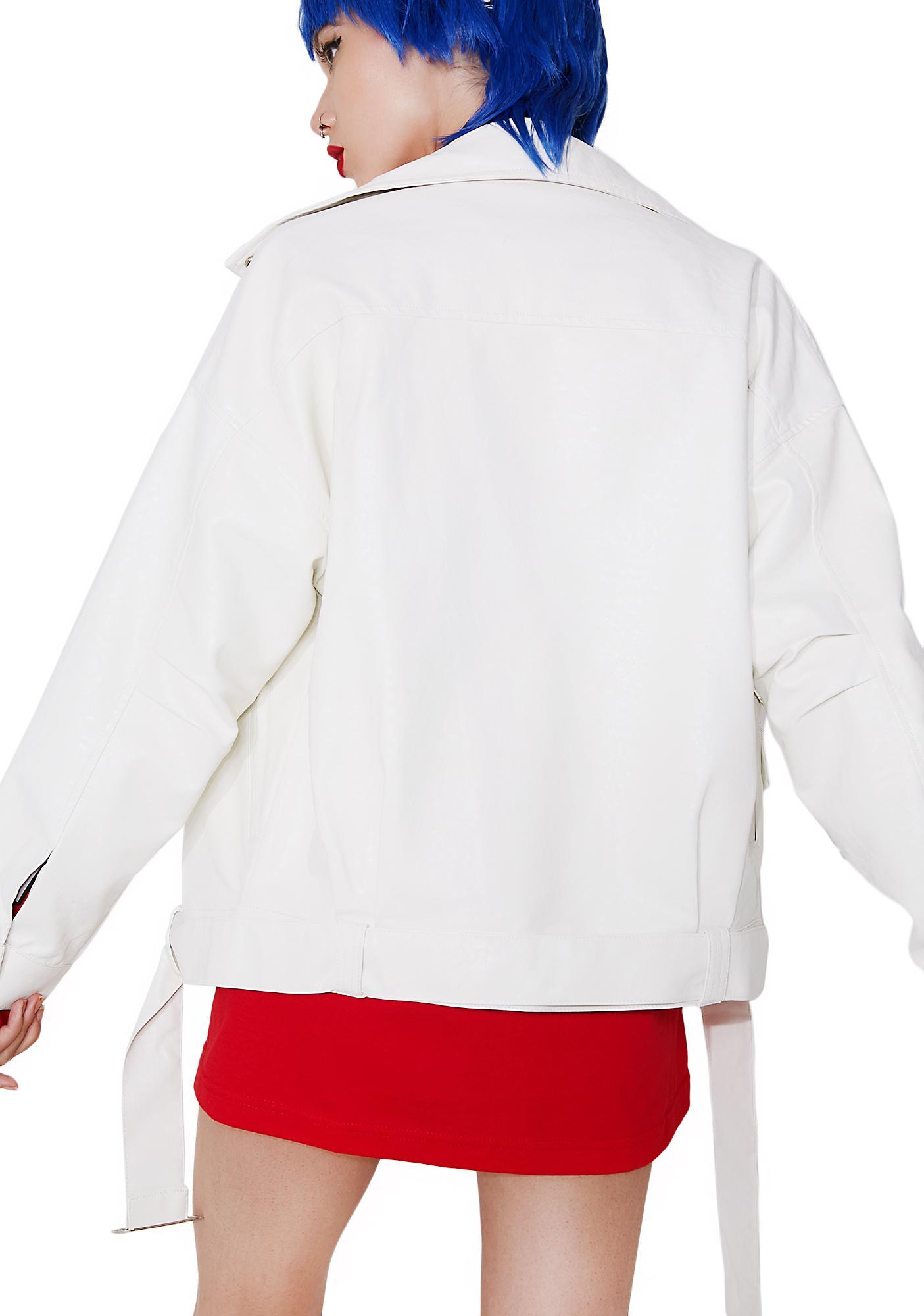 Viva Las Vegas Slouchy Moto Jacket