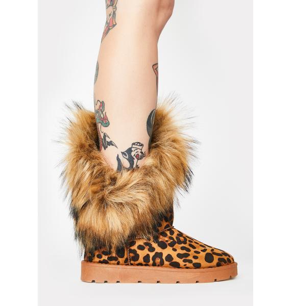 Fatal Frost Bite Fur Boots