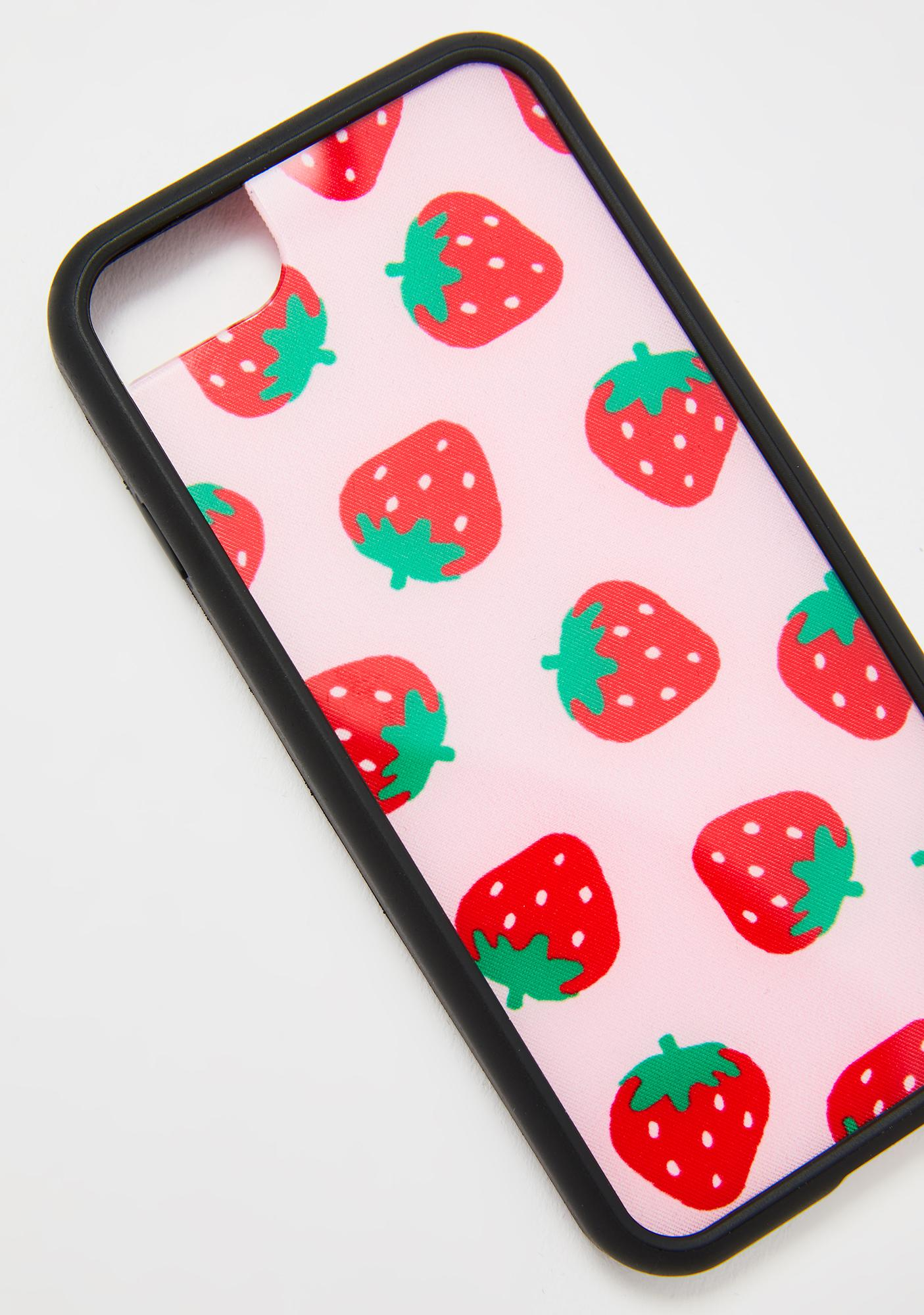 Wildflower Very Berry iPhone Case