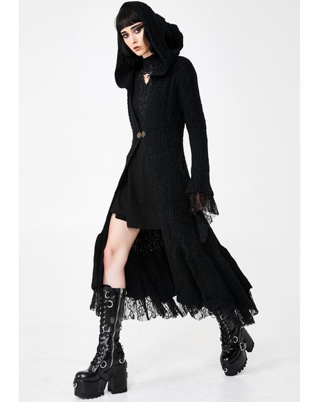 Gothic Knit Cloak