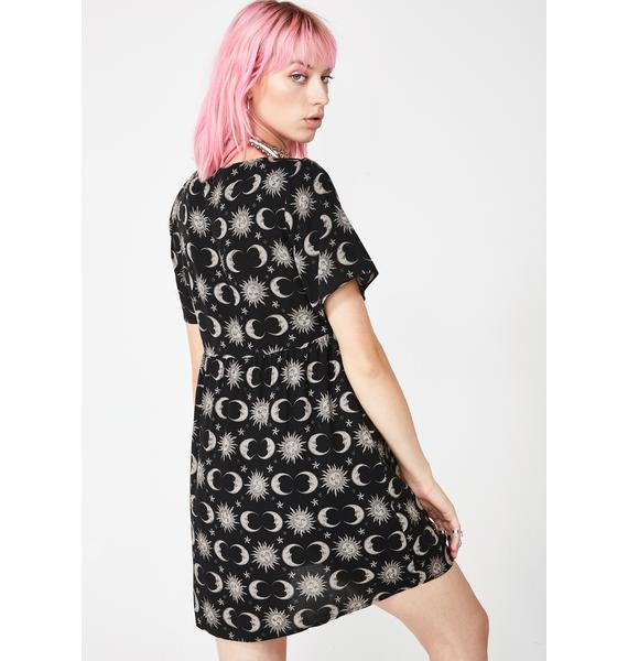 Motel Moonlight Flarita Dress