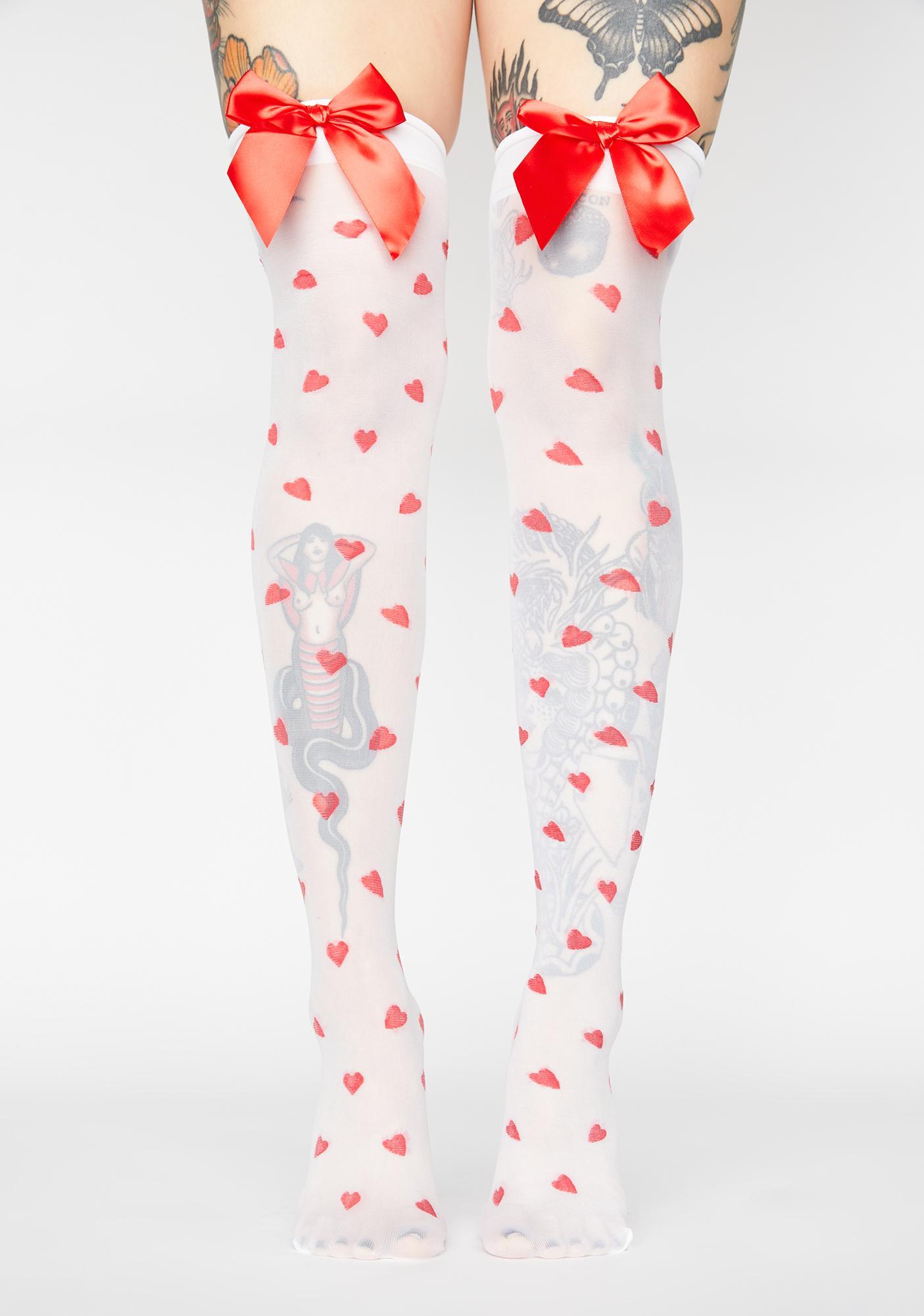 Ur Sweetheart Thigh High Stockings