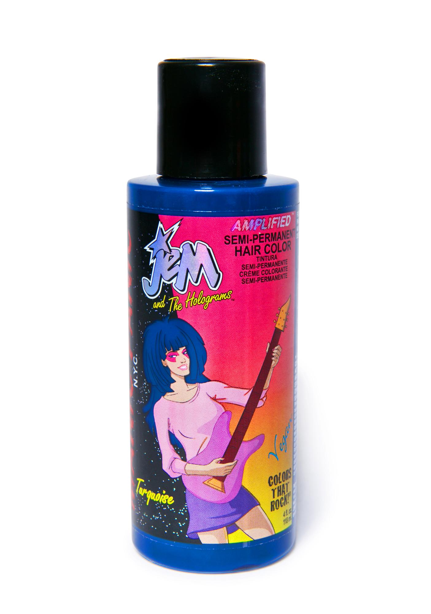 Manic Panic JEM Amplified Turquoise Hair Dye