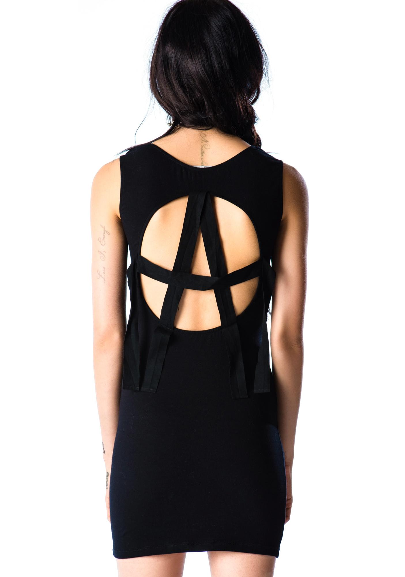Lip Service Anarchy Back Dress