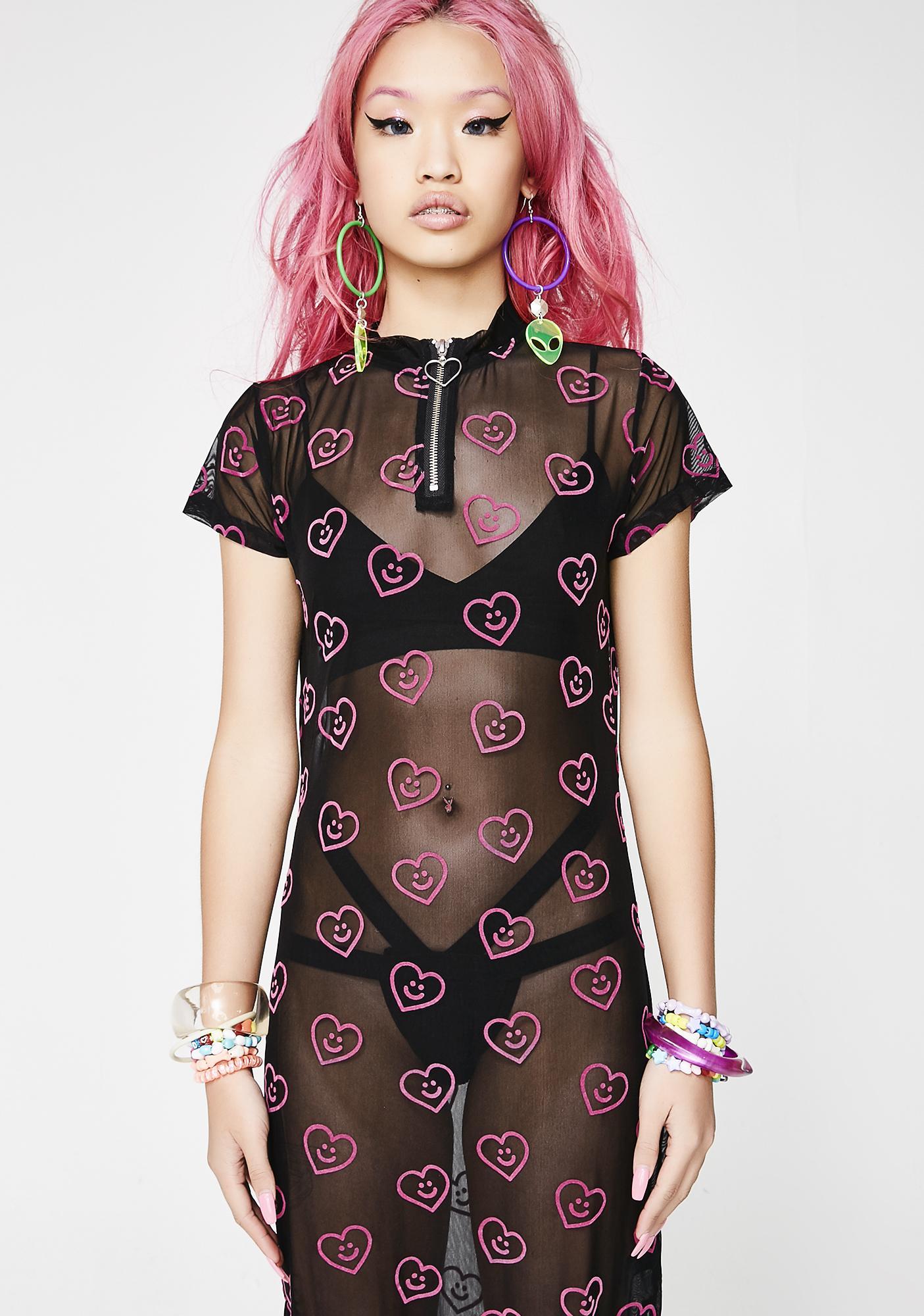 Lazy Oaf Heart Dress