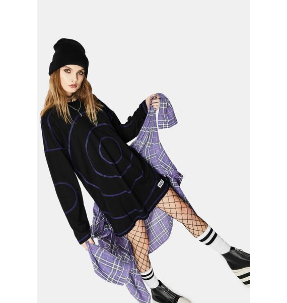The Ragged Priest Twilight Skater Tee Dress