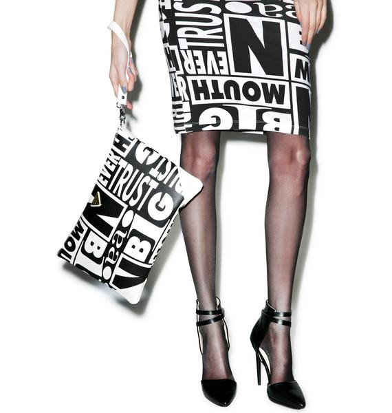 Joyrich Trust Issues Clutch Bag