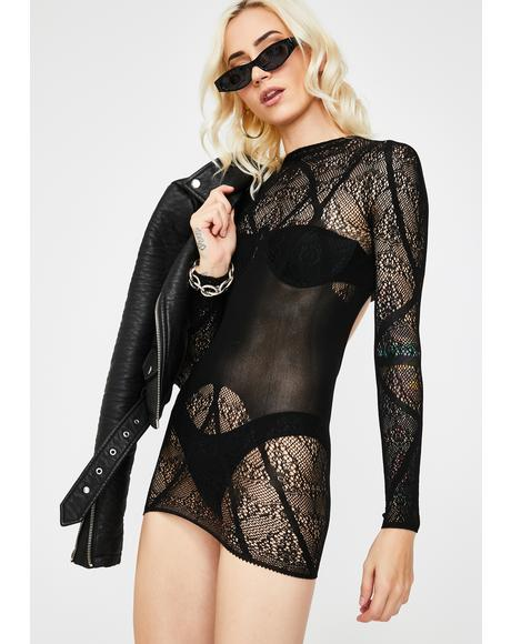 Lovesick Puppies Sheer Chemise
