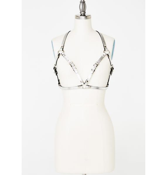 Chromed Out Bra Harness