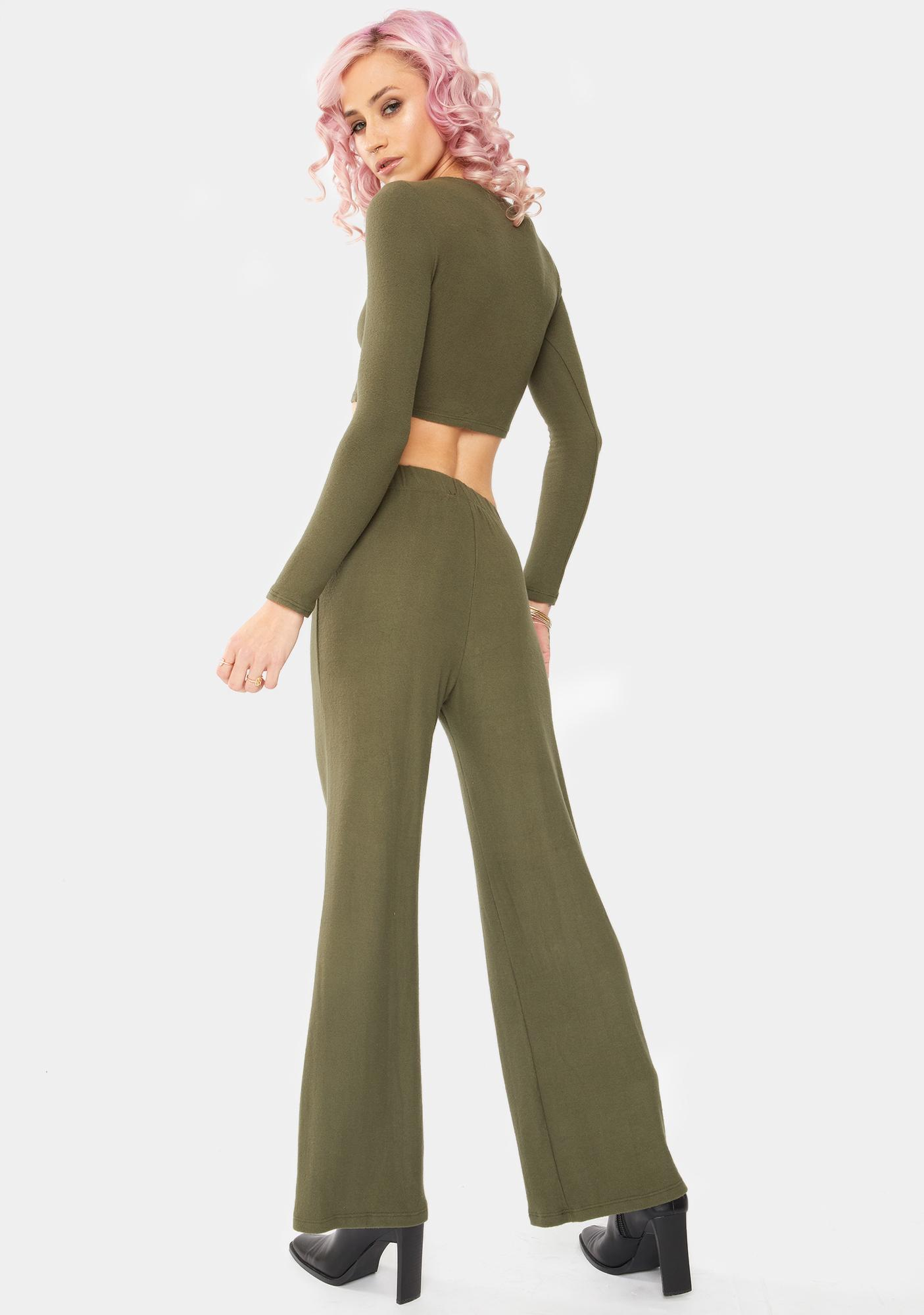 Bailey Rose Olive Lounge Pants