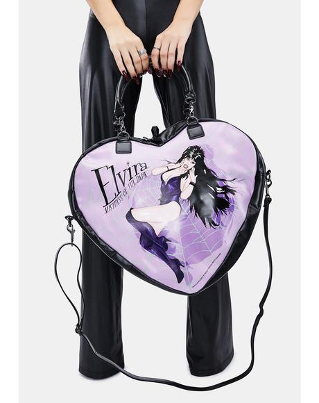 Elvira Mistress Of The Dark Crossbody Bag
