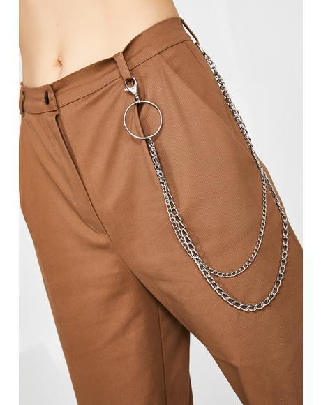 Peg Chain Trousers