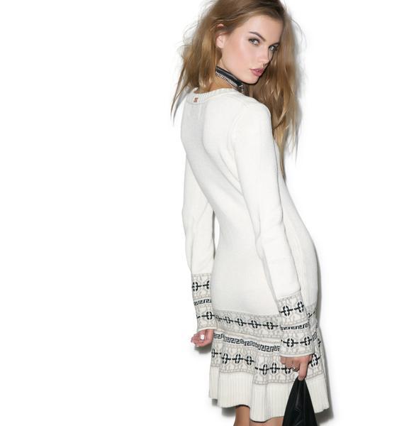 For Love & Lemons Alpine Mini Dress