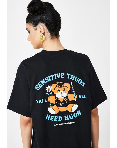 Sensitive Thugs Graphic Tee