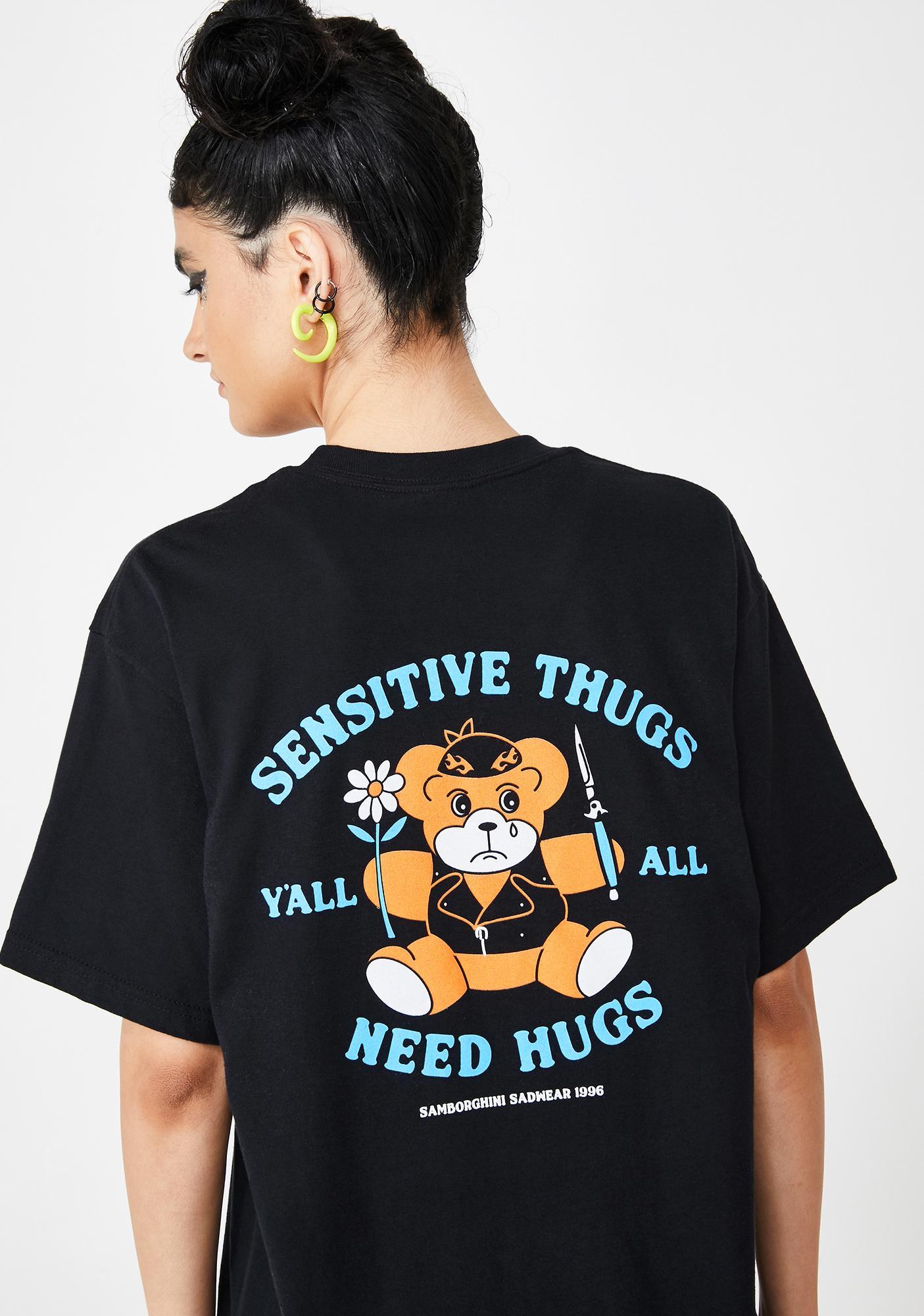 Samborghini Sensitive Thugs Graphic Tee