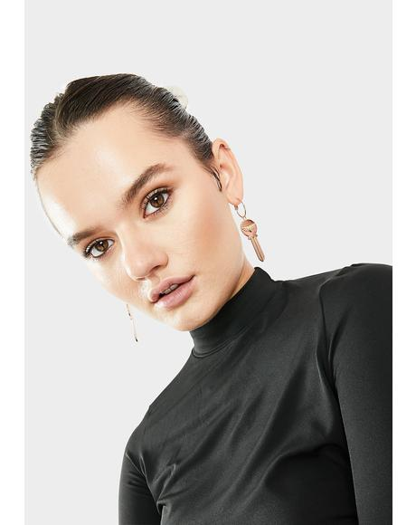 Unlocked Potential Drop Earrings