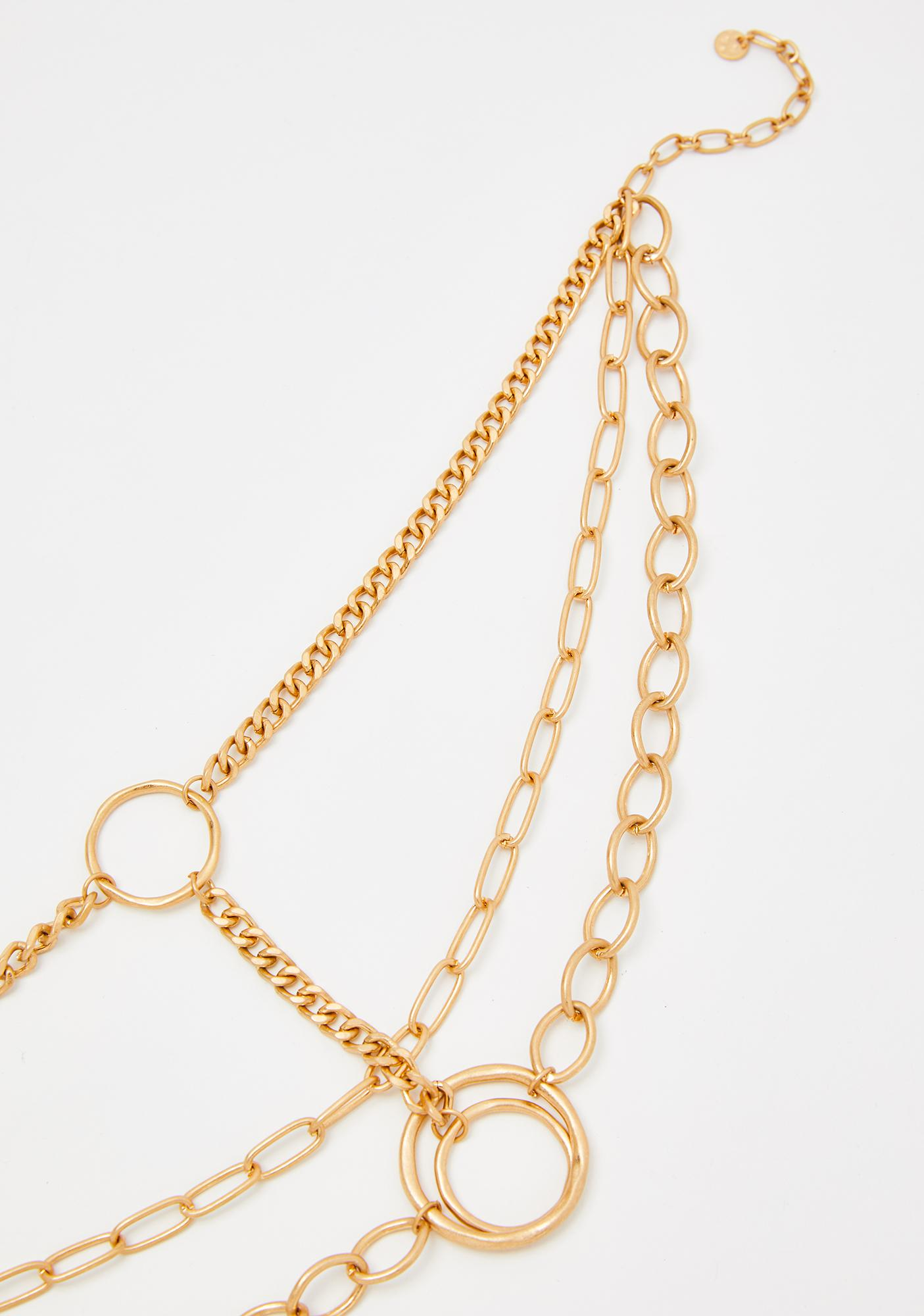 Soul Of Gold Chain Necklace