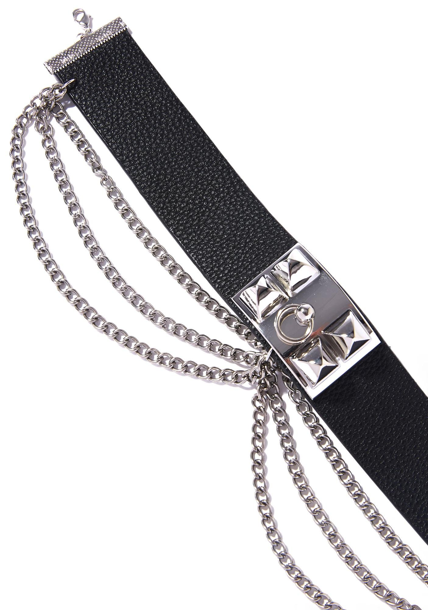 Hells Angels Leather Choker