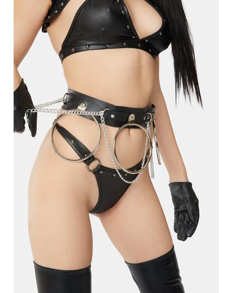 Hardcore Stunts O-Ring Waist Belt