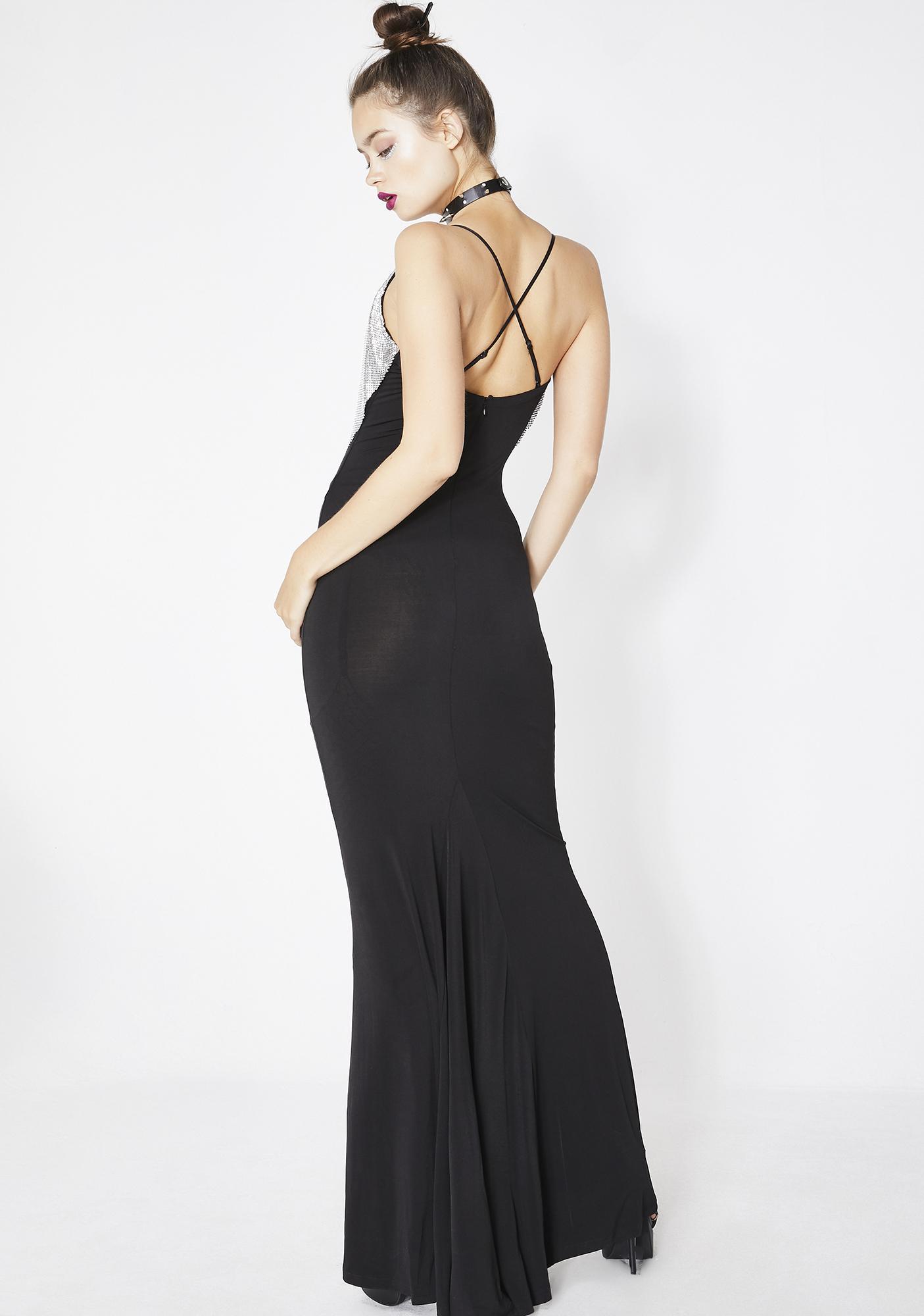 Kiki Riki Dipped In Finesse Chainmail Dress