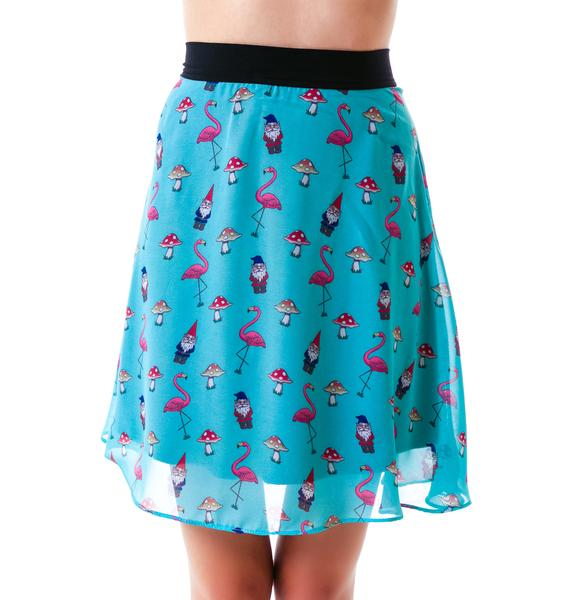 Flamingo Apron Skirt