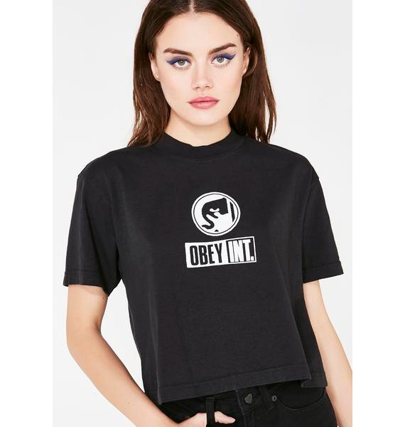 Obey Obey International Conspiracy Tee