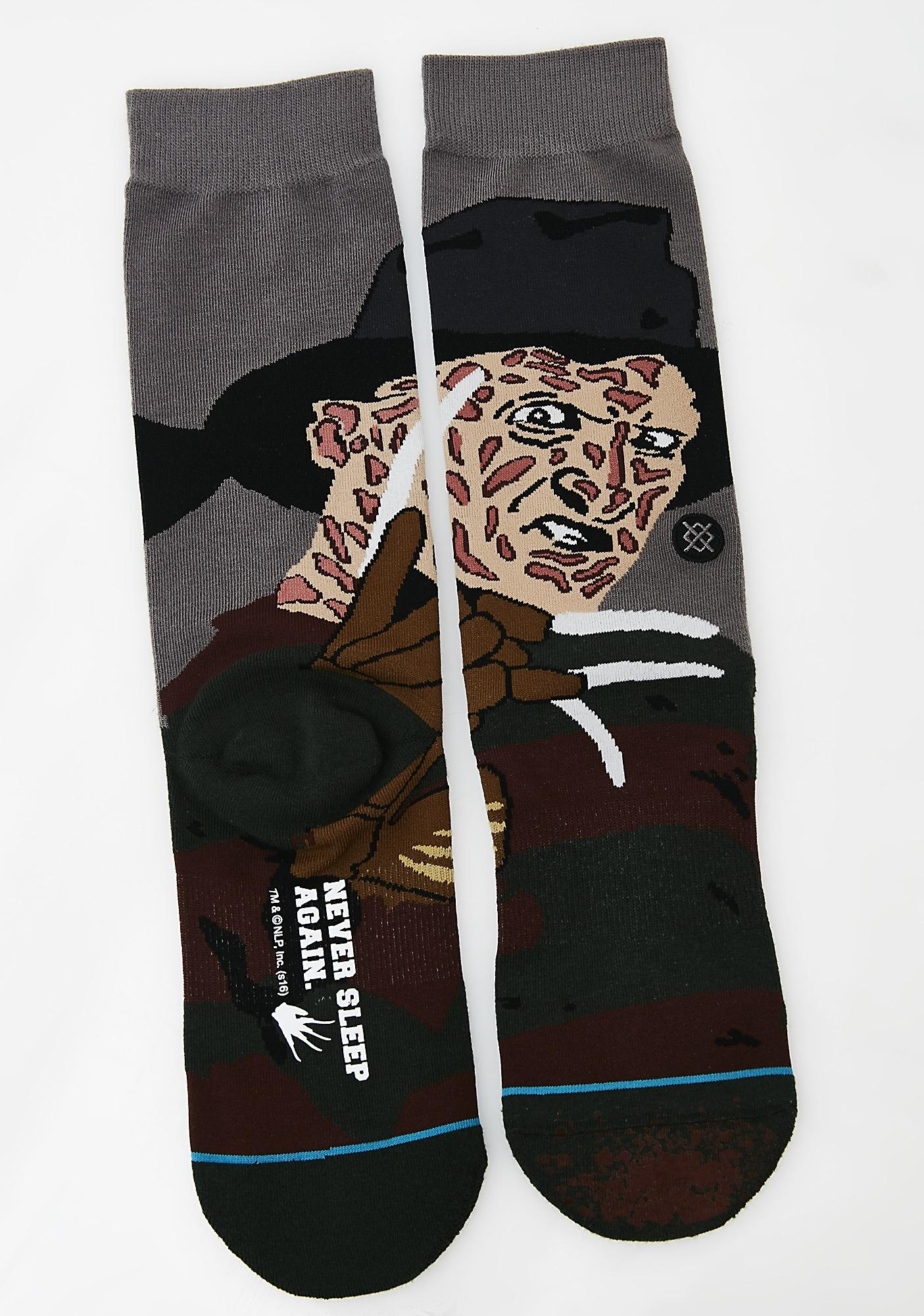 Stance Freddy Socks Black