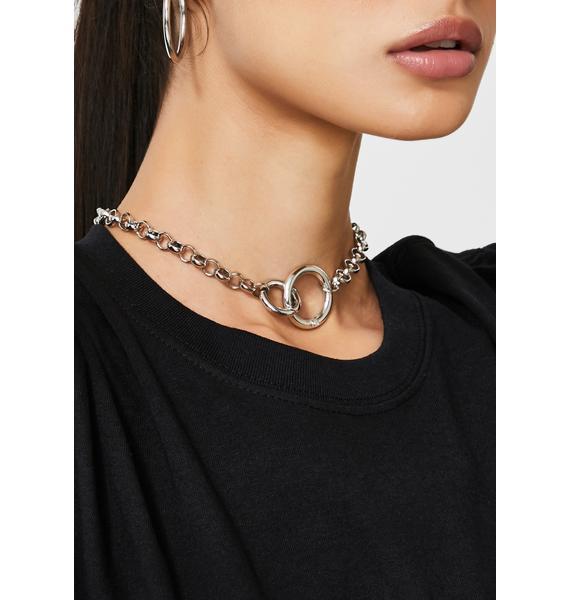 Linked Lova O Ring Necklace