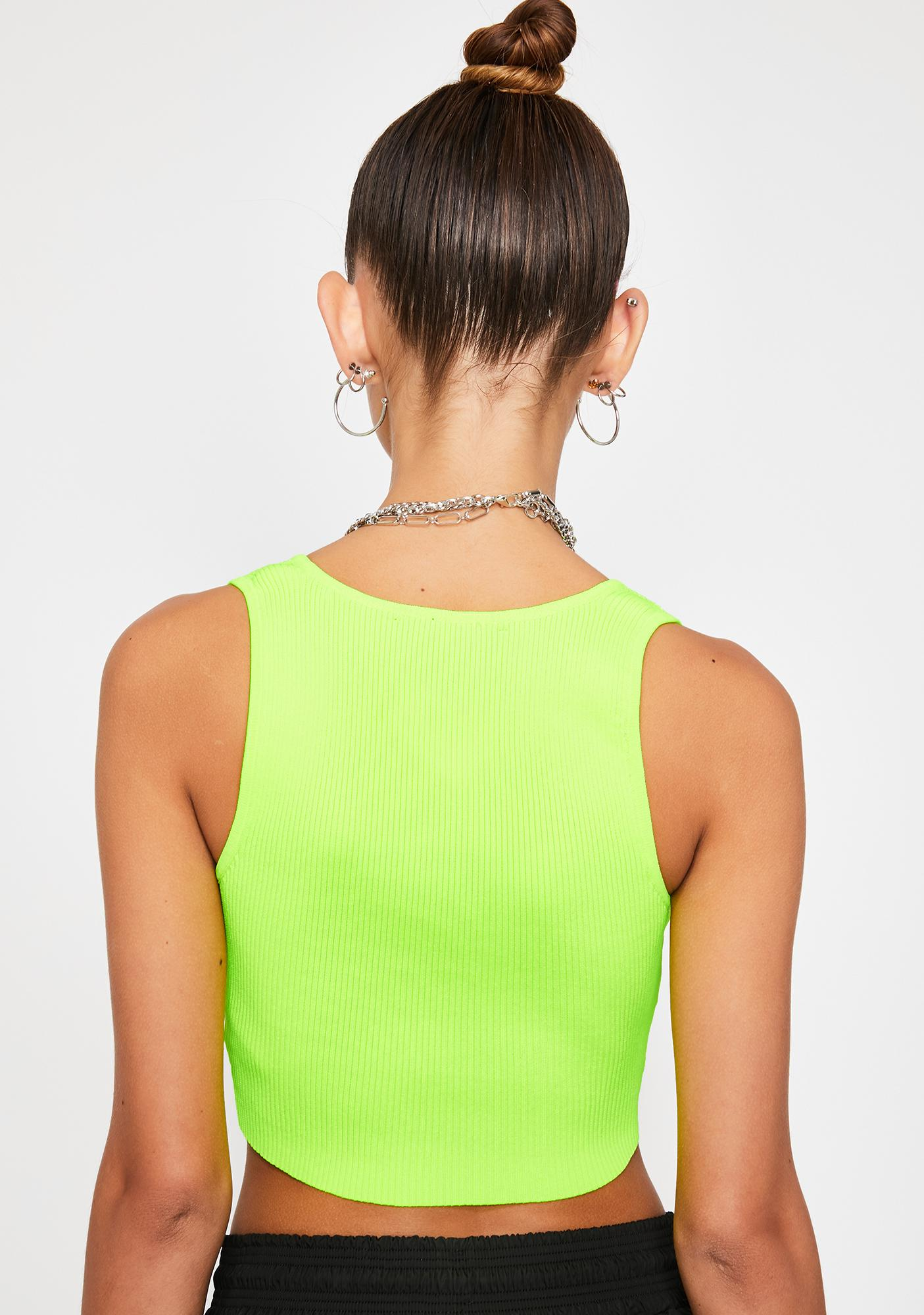 Bee Stay Chill Crop Top
