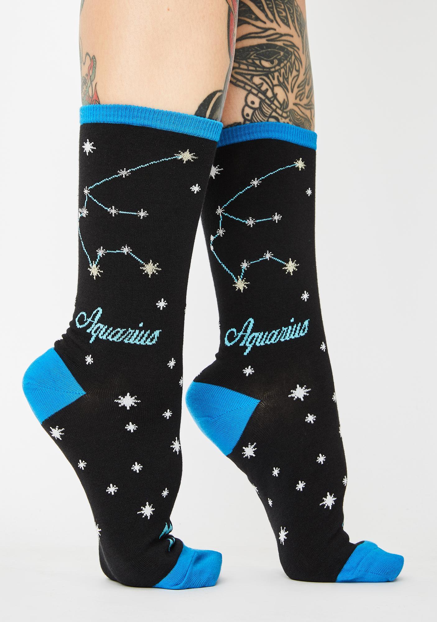 Socksmith Design Aquarius Crew Socks