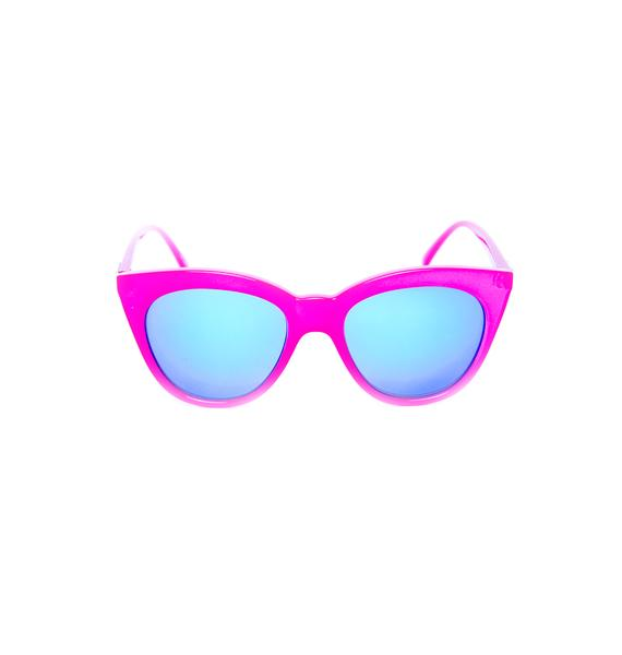 Mink Pink HalfMoon Magic Sunglasses