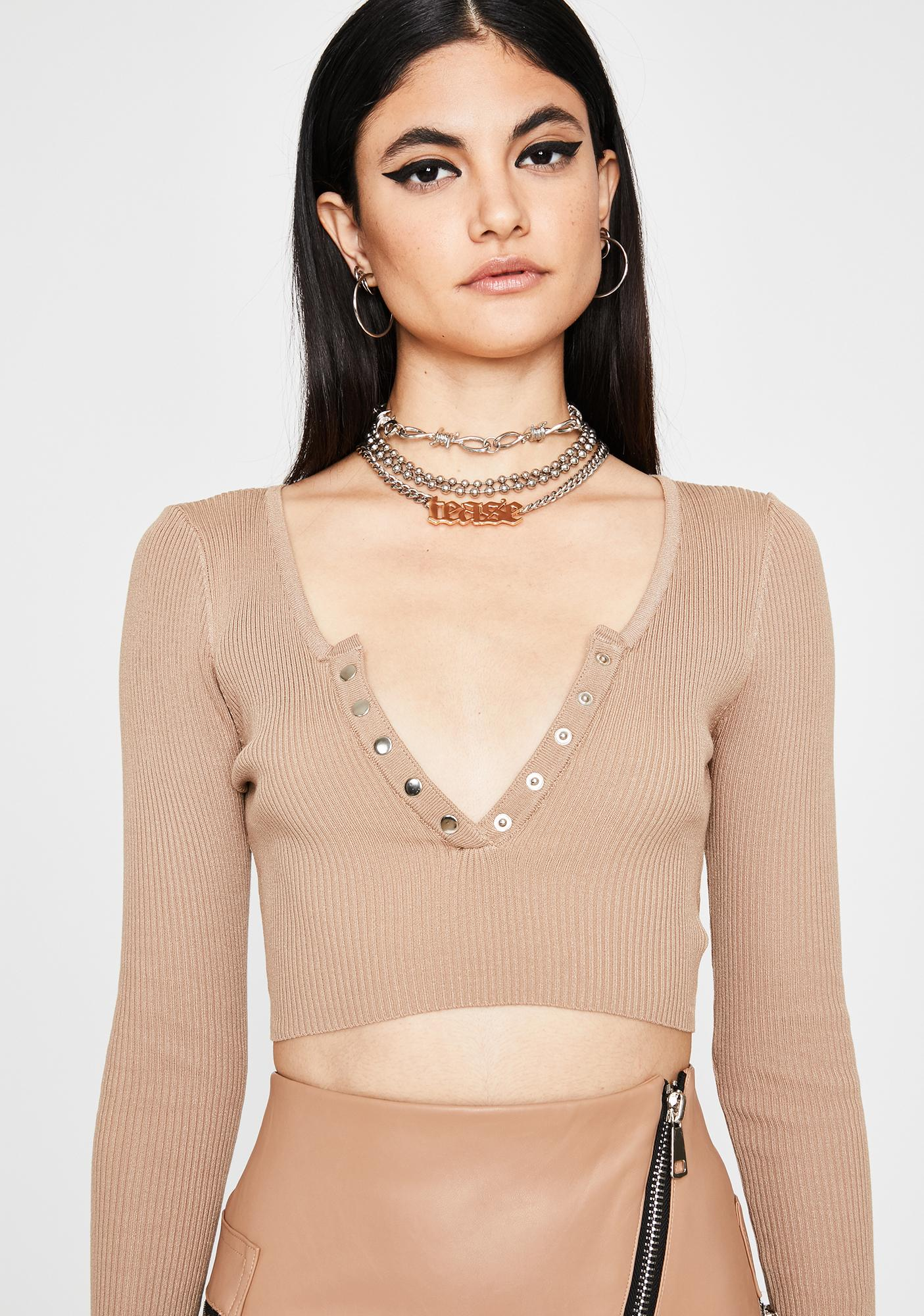 Honey Down To Chill Crop Top
