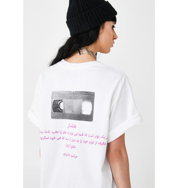 Funeral Farsi VHS Tape Graphic Tee