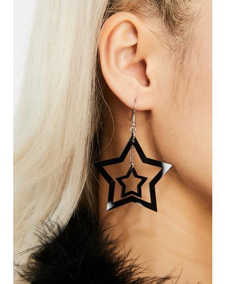 Only Star Drop Earrings