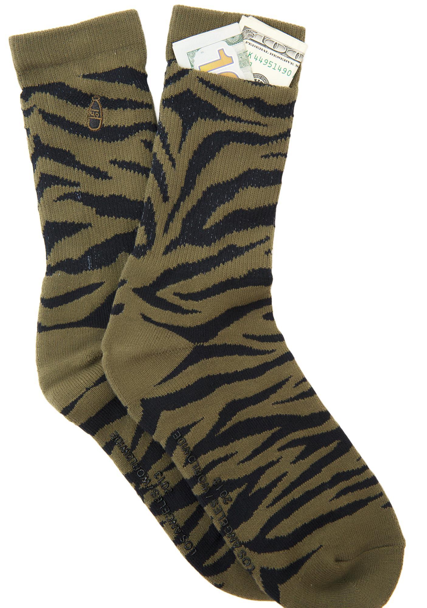 40s & Shorties Bravo Pocket Socks