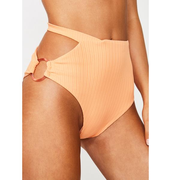 For Love & Lemons Juicy Daiquiri High Waist Bikini Bottoms