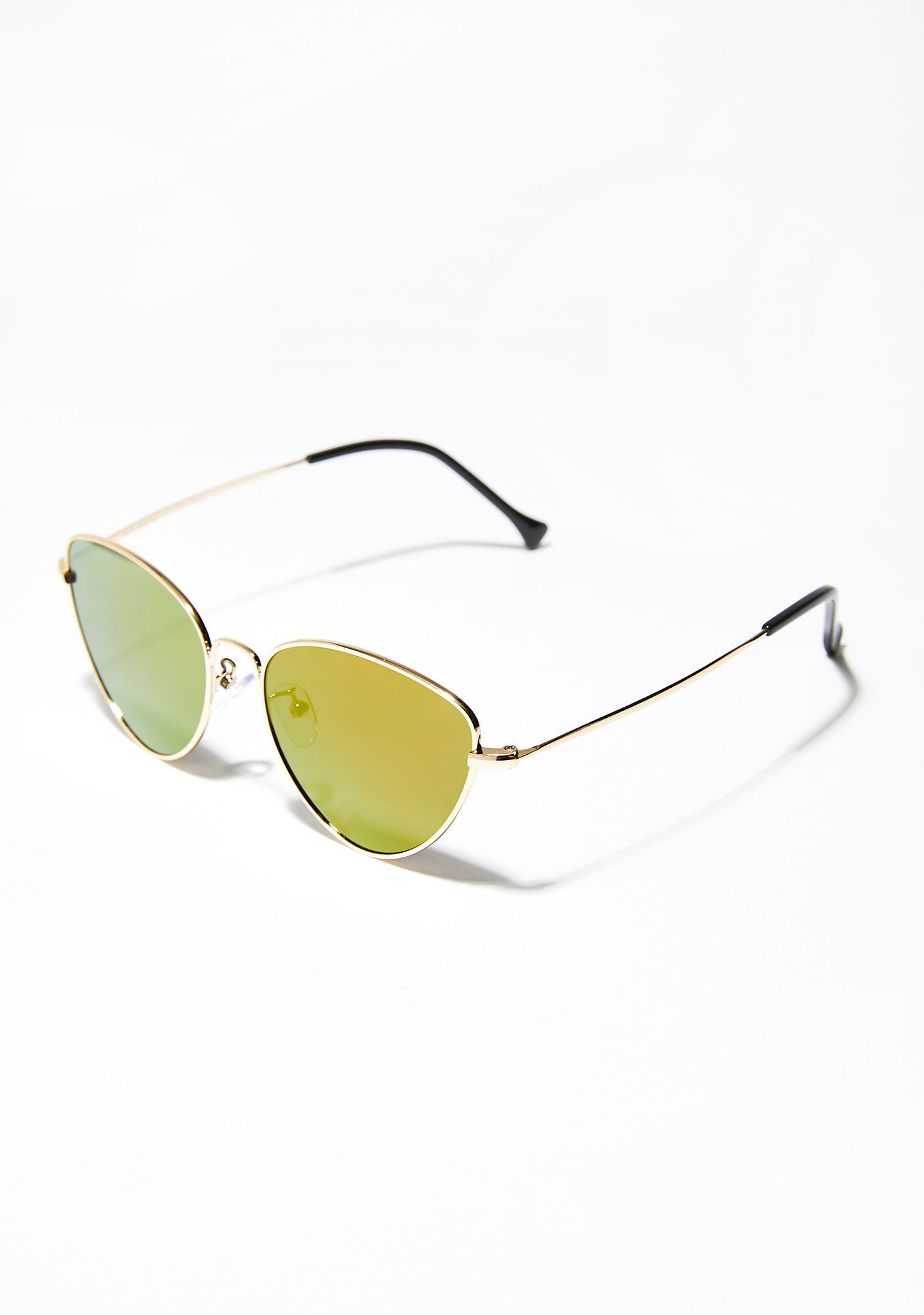 Roll Out Cat Eye Sunglasses