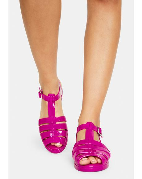 Lady Olly Jelly Sandals