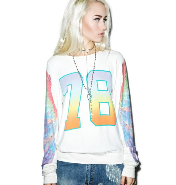Wildfox Couture Parrot Hop '78 Baggy Beach Jumper