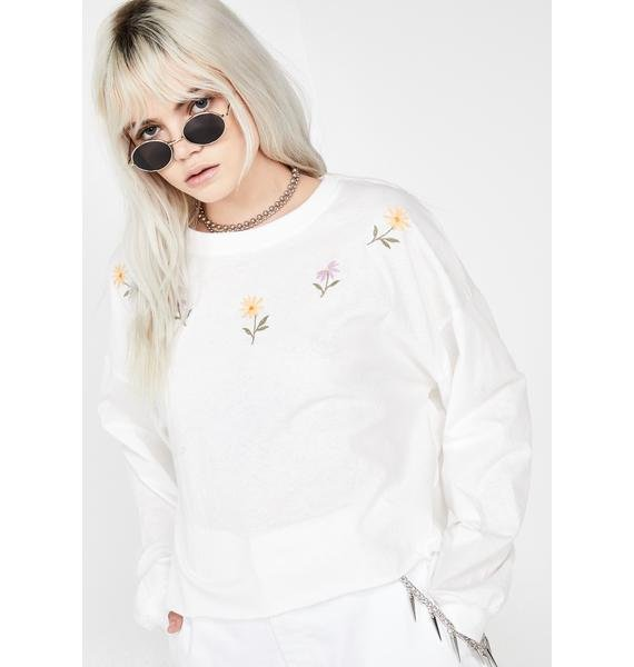 Posy Phresh Embroidered Top